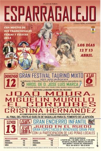 Moura Jr dia 12 de Abril em Esparragalejo