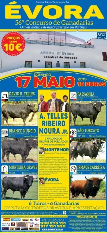 Domingo realiza-se o 56º Concurso de Ganadarias de Évora