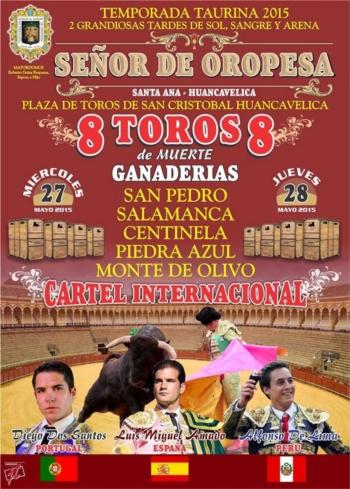 Diogo dos Santos dias 27 e 28 de Maio em Huancavelica (Peru)