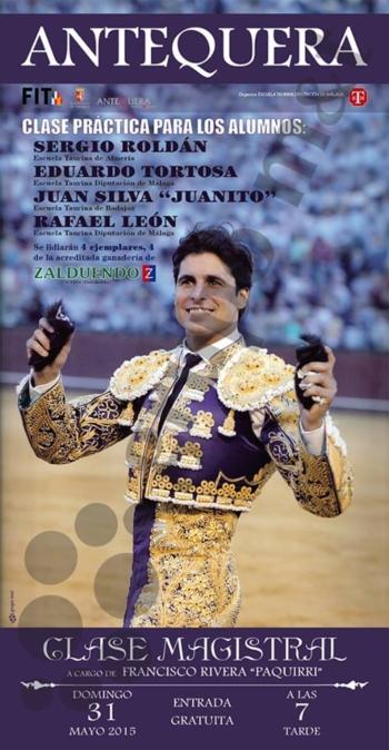 João Silva em Antequera dia 31 de Maio