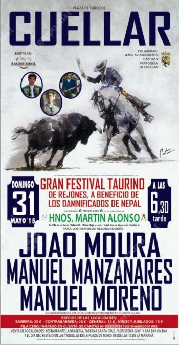Moura Jr dia 31 de Maio em Cuellar