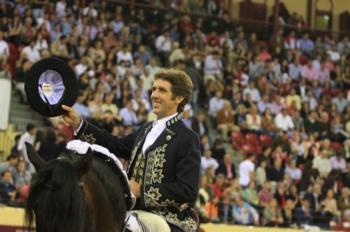 Pablo Hermoso de Mendoza na comemoração do centenário do Grupo de Forcados Amadores de Santarém