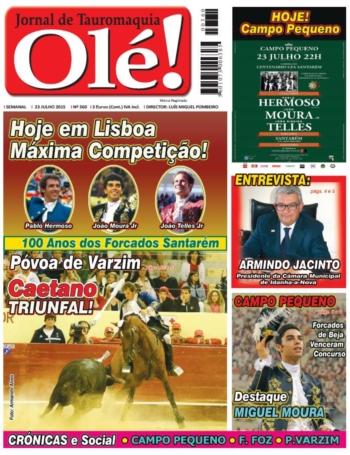 A Capa do Olé 360, já nas bancas