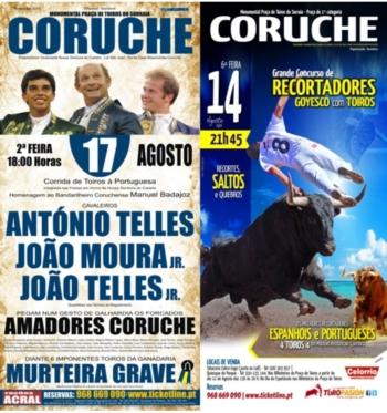 Dois espectáculos em Coruche pelas Festas em Honra de Nossa Senhora do Castelo