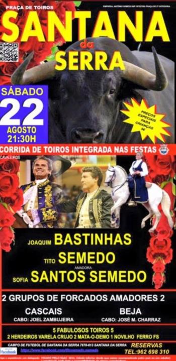 Apresentação da cavaleira amadora Sofia Santos Semedo