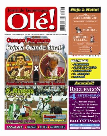 Jornal Olé nº366, já nas bancas