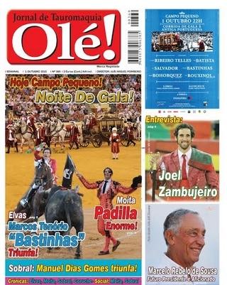 Jornal Olé! Amanhã nas bancas