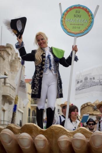 Sónia Matias brilha no Carnaval da Nazaré