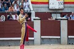Morenito de Aranda triunfa em Madrid