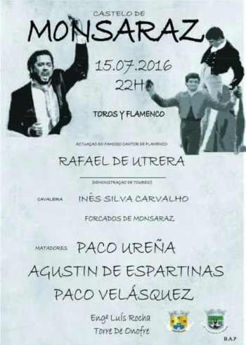 Evento Taurino em Monsaraz - Flamenco e demonstração de Toureio
