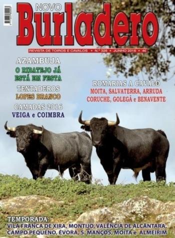 Capa da Edição Nº 328 da Revista Novo Burladero