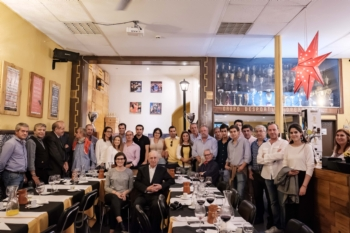 Helder Milheiro no 14º jantar da Tertúlia Círculo T