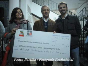 Leilão Grupo Forcados Coruche a favor da Liga Portuguesa Contra o Cancro