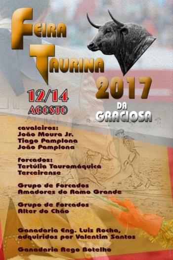 Feira Taurina da Graciosa (Açores) 2017