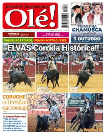 Semanário Ole nº419, hoje nas bancas